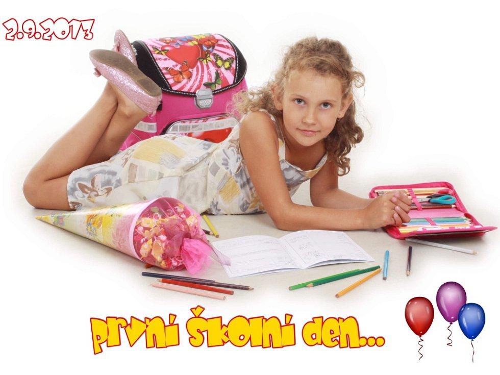 13. ALENKA LÍSKOVCOVÁ, 7 let, Březno u Chomutova.