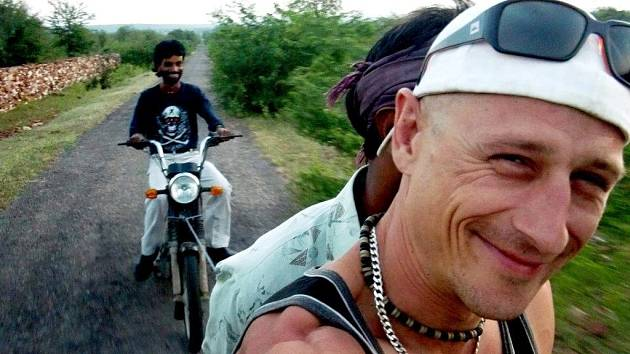 Matěj Homola v Indii.