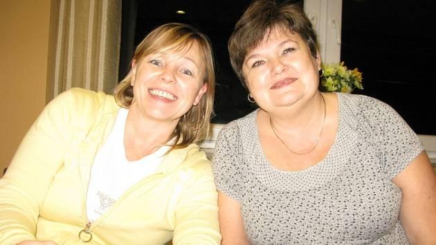 Severočešky Lenka Berková (vlevo) a Dana Marešová.
