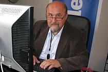 Pavel Sušický při on-line rozhovoru Deníku