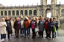 Seniory z Ústí nadchla návštěva Drážďan.