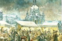 O ŠTĚDRÉM DNU končí vyhlášené drážďanské trhy, které mají dlouhou tradici.