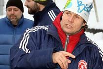 Trenér Neštěmic Martin Beran.