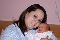 Adéla Glaserová, se narodila v ústecké porodnici dne 2. 2. 2013 (14.22) mamince Veronice Glaserové, měřila 46 cm, vážila 2,66 kg.