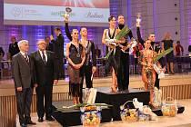 Ondřej Sliška a Daniela Valjentová se na mistrovství republiky umístili na druhém místě.