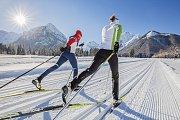 Zimní středisko Achensee láká hlavně běžkaře.