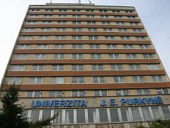 Rektorát ústecké univerzity.