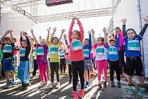 Závody RunTour se těší velké oblibě veřejnosti, dospělých i dětí.