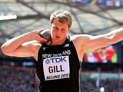 Dvojnásobný juniorský mistr světa Jacko Gill.