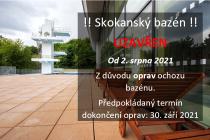 Chystá se uzavření skokanského bazénu na koupališti Klíše.