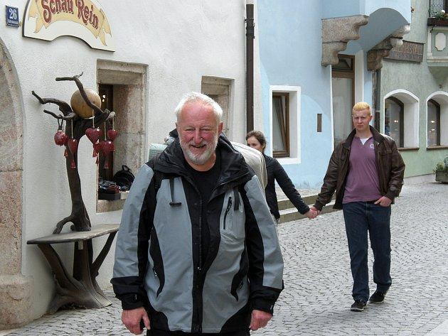 Vladimír Kaiser na jakubské pouti ve městě Rattenberg uInnsbrucku.