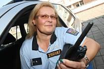 Pohotová policistka Alena Gieszmanová.