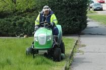 Vysokou trávu musí firmy sekat již v půlce dubna.