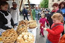 Tradiční jarmarky se v Zubrnicích konají už od roku 1995.