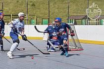 Elba DDM Ústí - Kladno, hokejbal extraliga 2020/2021.