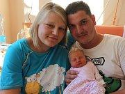 Adéla Foglová se narodila v ústecké porodnici 28.8.2016 (16.48) mamince Daně Janoušové. Měřila 47 cm, vážila 3,02 kg.