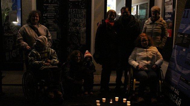 Oslava 17. listopadu v Ústí