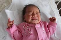 Adéla Novotná se narodila v ústecké porodnici 10.10. (11.30) Silvii Novotné. Měřila 47 cm, vážila 2,60 kg.