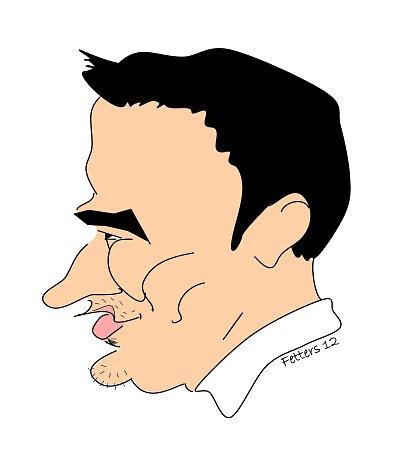 Karikatura: Kryštof Rímský.