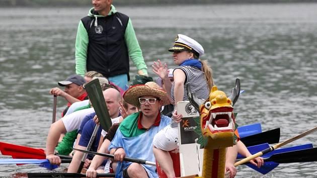 V sobotu se na Labi bude konat 6. ročník závodu dračích lodí. Vyhrát může jenom jedna.