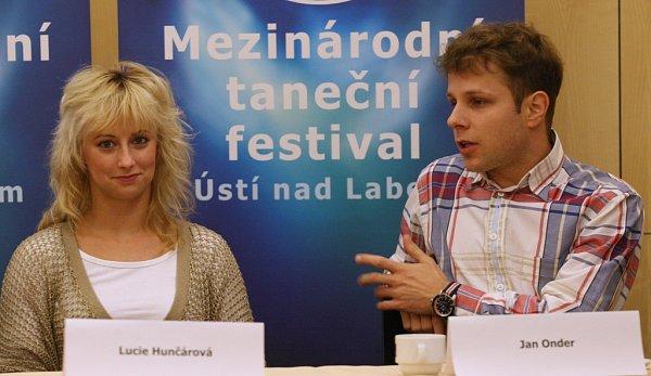Lucie Hunčárová a Jan Onder.