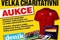 Velká charitativní aukce Deníku.