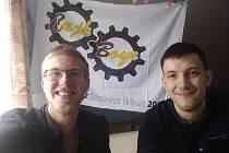 Jiří Šťastný a Tomáš Kolda
