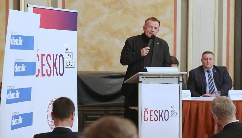 Veřejná debata Česko! A jak dál? rozproudila ústecké muzeum.