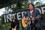 Interporta v parku na Severní Terase nabídla bohatý hudební program.