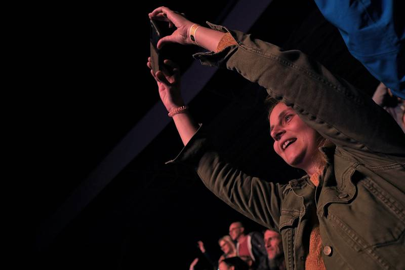 Koncert Lucie v ústeckém letním kině