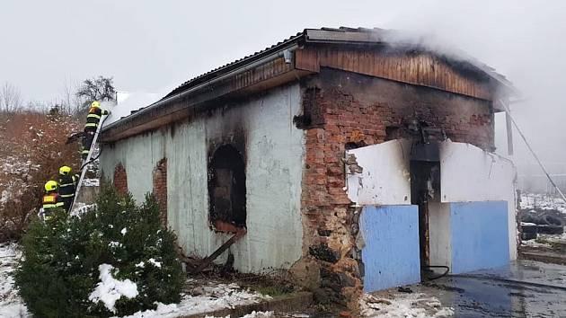 V Předlicích hořelo v neobydleném domku
