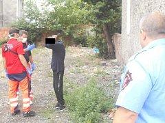 Strážníci zadrželi celostátně hledaného muže, který měl trpět  nakažlivou plicní chorobou.