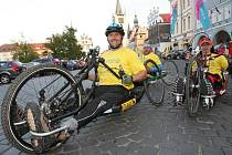 Tour de Labe handicap testuje Labskou stezku.