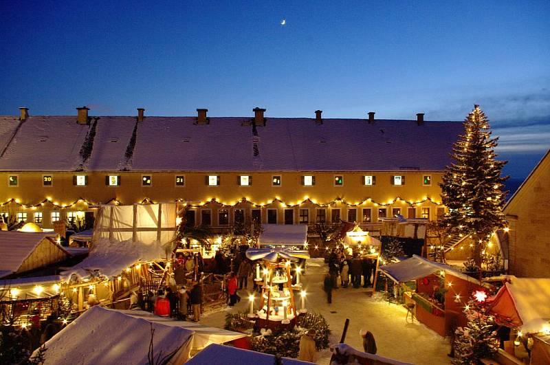 Součástí letošního vánočního trhu je i tajuplný a jedinečný podzemní svět ukrytý v Medvědích kasematech.