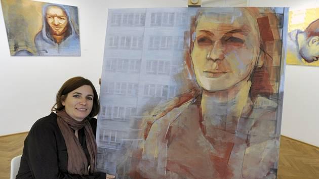 Výtvarnice Elisabeth Müller, původem z Ústí nad Labem, vystavuje ve zdejším městském muzeu až do 2. prosince.