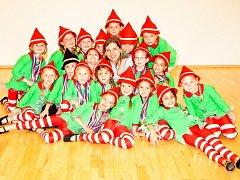 Malí tanečníci z Dance Center Marvenci, jako úřadující mistři ČR v show dance v nejmladší kategorii, jedou reprezentovat Ústí až do New Yorku.