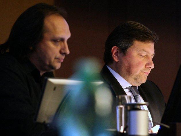 Vít Mandík (vpravo).