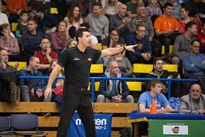 Trenér basketbalistů SLUNETA Ústí nad Labem Antonín Pištěcký.Foto: Karel Dvořáček/Sporty Ústí