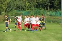 Fotbalisté Střekova ilustrační (bíločervení)