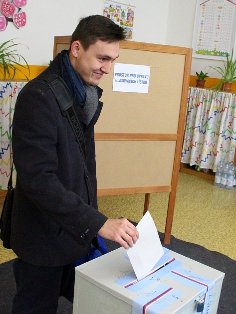 21letý prezidentský prvovolič Pavel Thoř