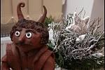 Malí i velcí umělci si v muzeu popřáli hezké vánoce!
