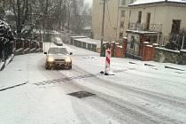 Stará ulice.