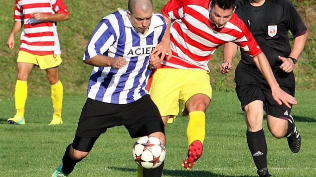 Fotbalisté Brné zvítězili ve Velkém Březně 5:0 a dokonale tak Jiskře oplatili podzimní porážku 1:3 ze své půdy.