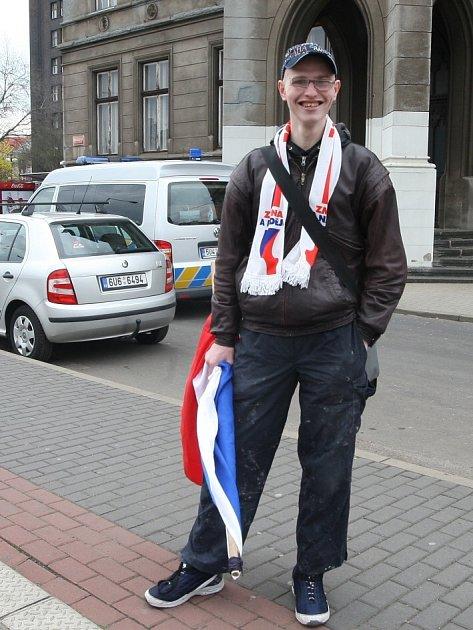 Svolavatel nepovedeného pochodu Josef Bareš.
