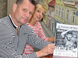 Radka Kubíčková a Jiří Šťovíček.