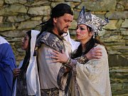 Opera Nabucco na hradě Střekov