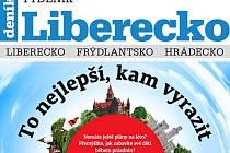 Nejnovější vydání Týdeníku Liberecko