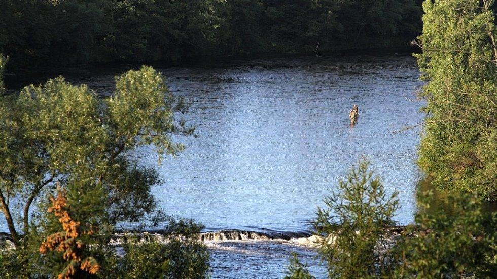 Ohře, která patří mezi vodáky k nejoblíbenějším splavovaným tokům v České republice.
