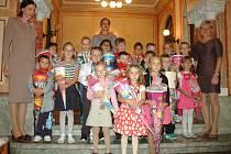 První školní den na Ústecku.