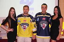 Hokejisté Slovanu Ústí představili nové dresy